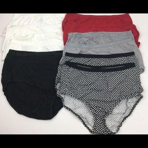 11 pairs Hanes NWOT briefs panty bundle C60